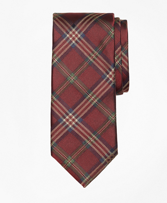 Brooks Brothers Signature Tartan Tie