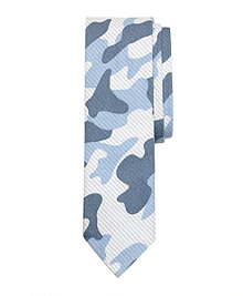 Oxford Striped Camouflage Slim Tie