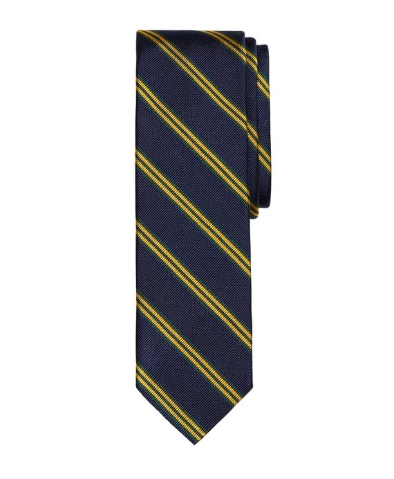 BB#1 Stripe Slim Tie Navy