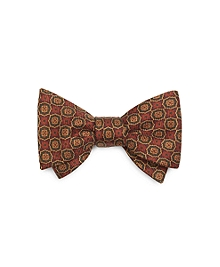 Ancient Madder Small Medallion Bow Tie