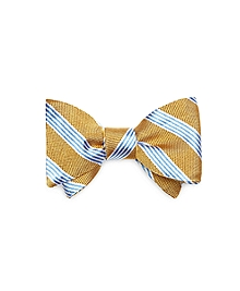 Natte Music Stripe Bow Tie