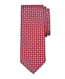 Oval Link Print Tie