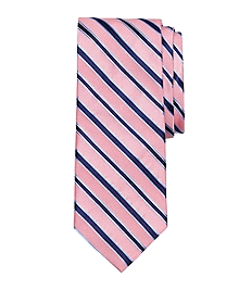 Mixed Weave Stripe Tie