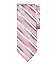 Heathered Tonal Stripe Tie