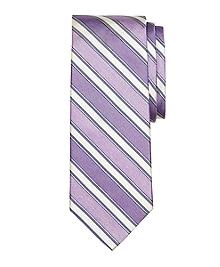 Heathered Tonal Stripe Tie