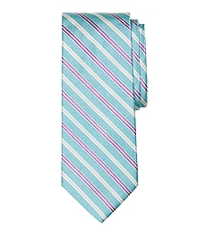 Melange Twin Stripe Tie