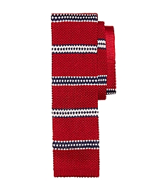 BB#1 Stripe Knit Tie