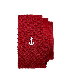 Anchor Knit Tie