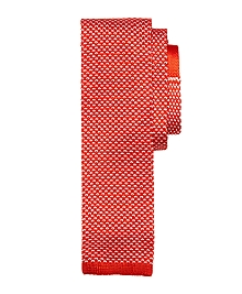 Bird's-Eye Knit Tie