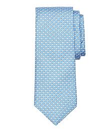 Dolphin Print Tie