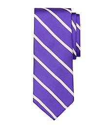 Bar Stripe Printed Tie