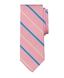 Mogador Alternating Bar Stripe Tie