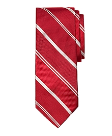 Mixed Weave Alternating Stripe Tie