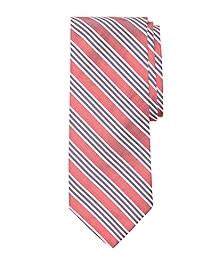 Framed Triple Stripe Tie