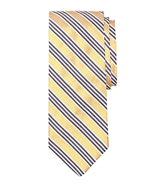 Framed Triple Stripe Tie