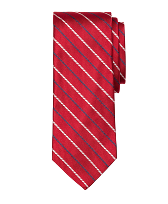 Alternating Rope Stripe Tie