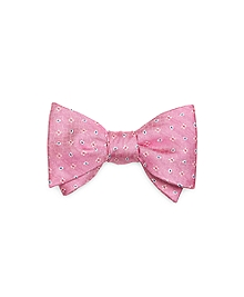 Flower and Pine Bow Tie