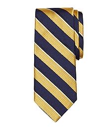 Mixed Weave Sidewheeler Stripe Tie