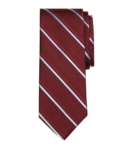 Alternating Double Stripe Tie