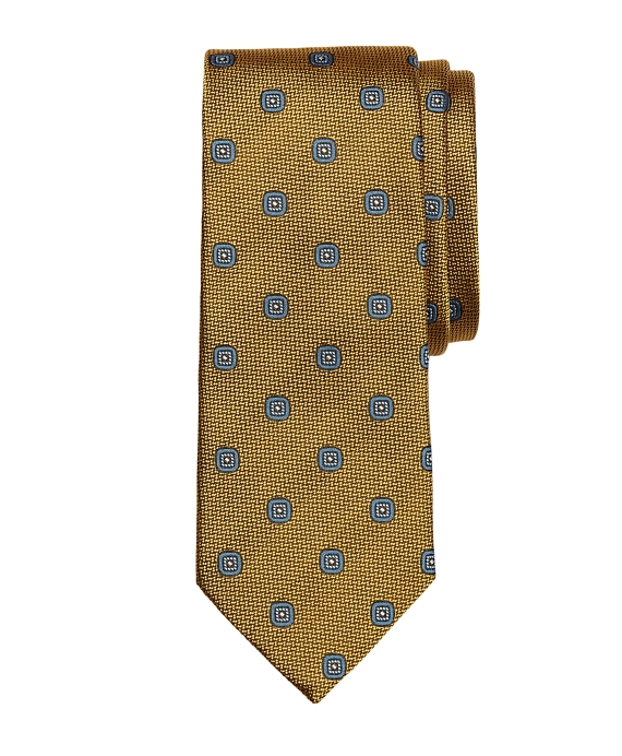 Spaced Square Tie Gold