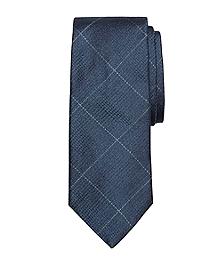 Glen Plaid with Deco Tie