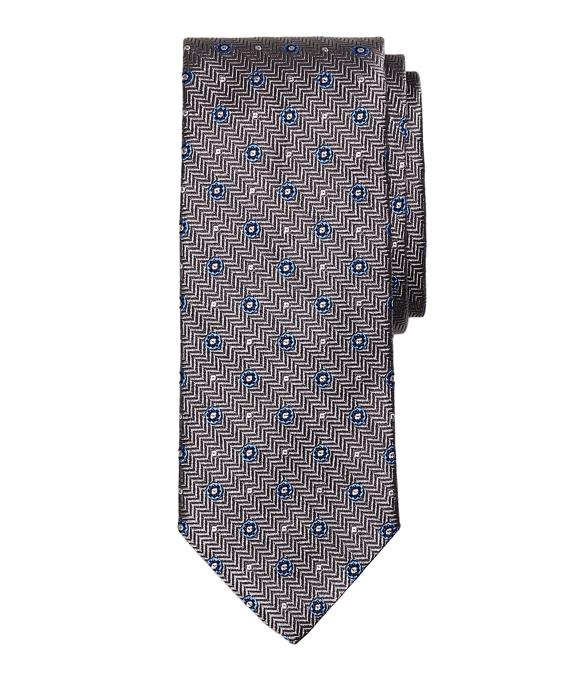 Herringbone Circle Tie