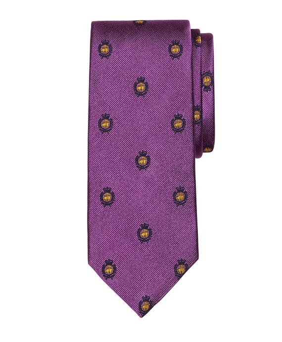 Golden Fleece® Crest Tie Purple