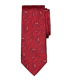 Large Paisley Tie