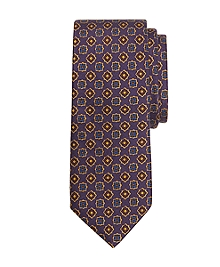 Ancient Madder Medallion Tie