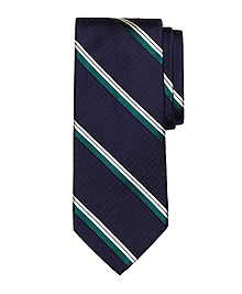 Parquet Stripe Tie