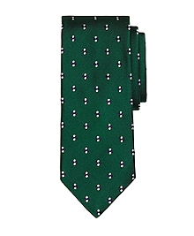 Four-Dot Flower Tie