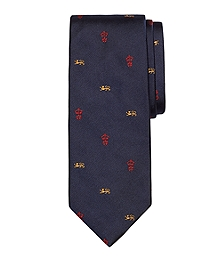 Lion and Crown Tie