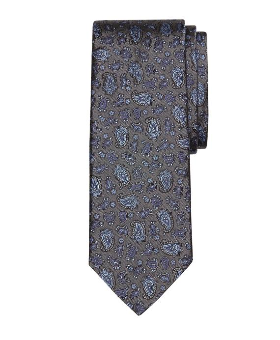 Paisley Tie Grey