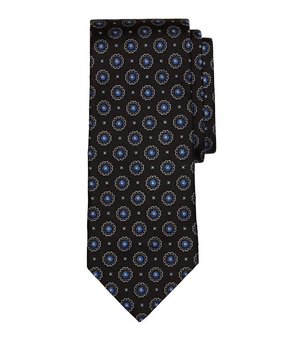 Spaced Medallion Tie