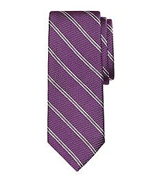 Textured Tonal Stripe Tie