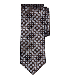 Four-Dot Windowpane Tie