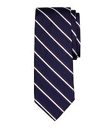 Framed Repp Stripe Tie