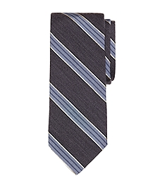 Heathered BB#1 Stripe Tie