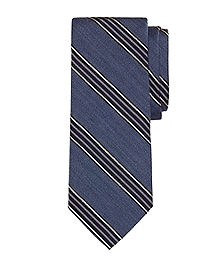 Heathered BB#1 Stripe Tie
