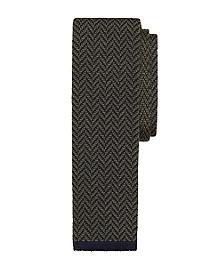 Herringbone Knit Tie