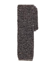 Solid Melange Tie