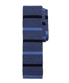 Melange Stripe Knit Tie