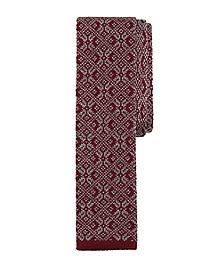 Snowflake Knit Tie