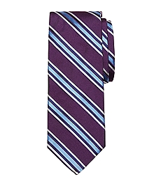 Satin Framed Stripe Tie