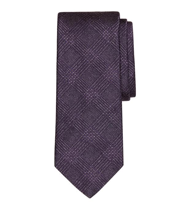 Heathered Plaid Tie