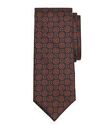 Ancient Madder Medallion Tie