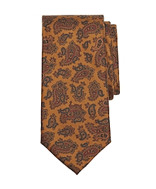 Golden Fleece® 7-Fold Ancient Madder Paisley Tie