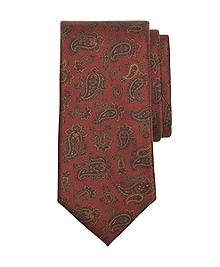Golden Fleece® 7-Fold Ancient Madder Paisley Tie