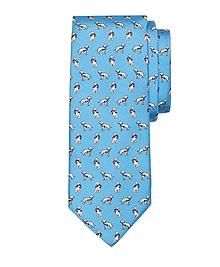 Dog Print Tie