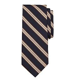 Melange Framed Stripe Tie